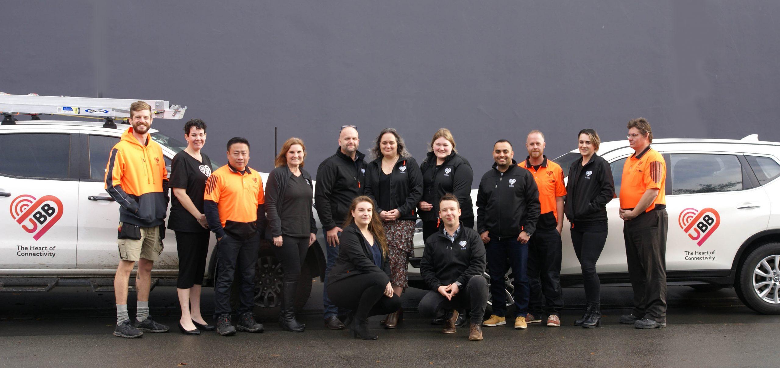 Ultimate Broadband Team Photo